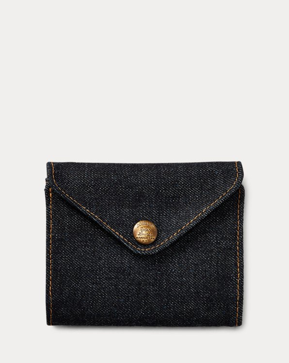 Indigo Denim Billfold Wallet
