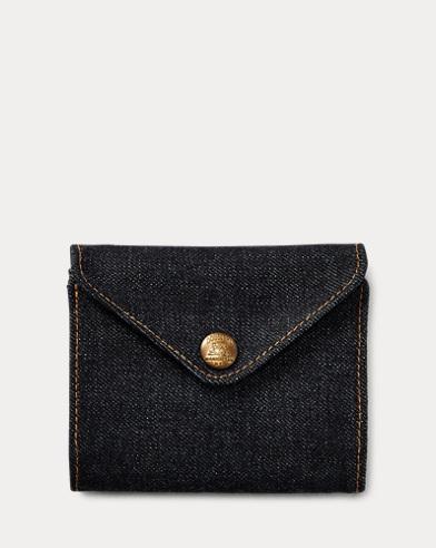 Indigo Denim Billfold Wallet