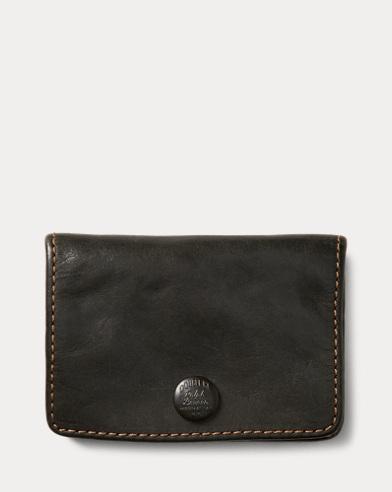 Indigo Leather Coin Wallet