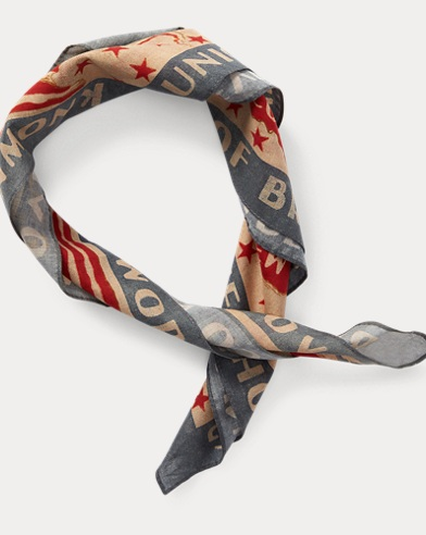 Print Cotton Bandanna