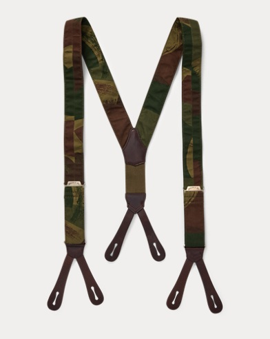 Camo Stretch Cotton Braces
