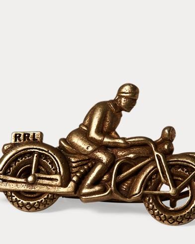 Moto Brass Pin