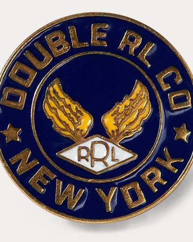 Logo Enamelled Brass Pin