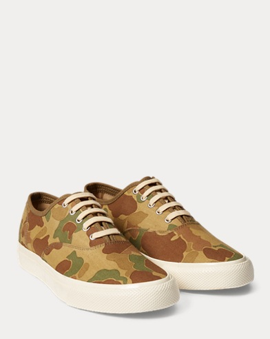 Norfolk Camo Twill Trainer