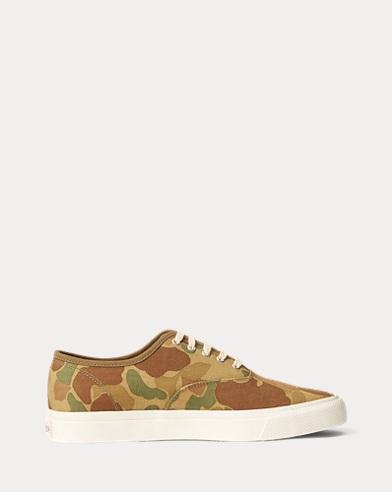 Norfolk Camo Twill Sneaker