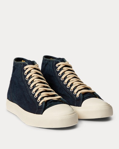 Mayport Indigo Canvas Trainer