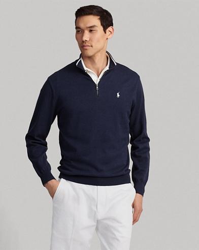 Golfpullover aus Baumwolle