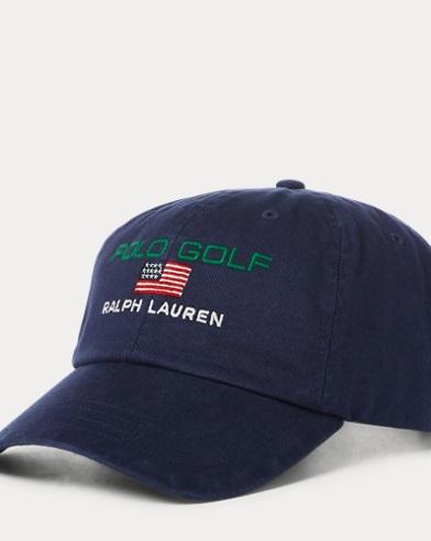 Golfkappe aus Baumwolltwill