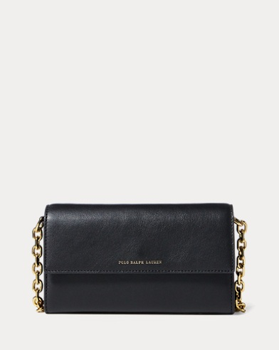 ef0a9333685b Nappa Leather Chain Wallet. color (2)  Black · Taupe. Polo Ralph Lauren.  Nappa Leather Chain Wallet