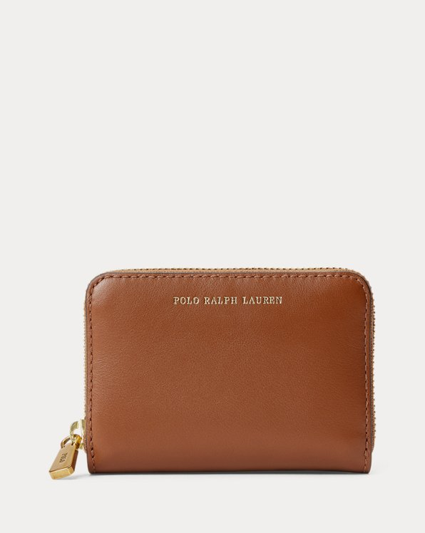 Leather Small Zip Wallet