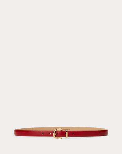 Stirrup Leather Skinny Belt