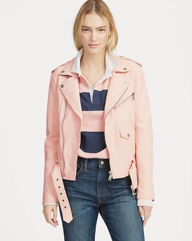 Pink Pony Moto Jacket