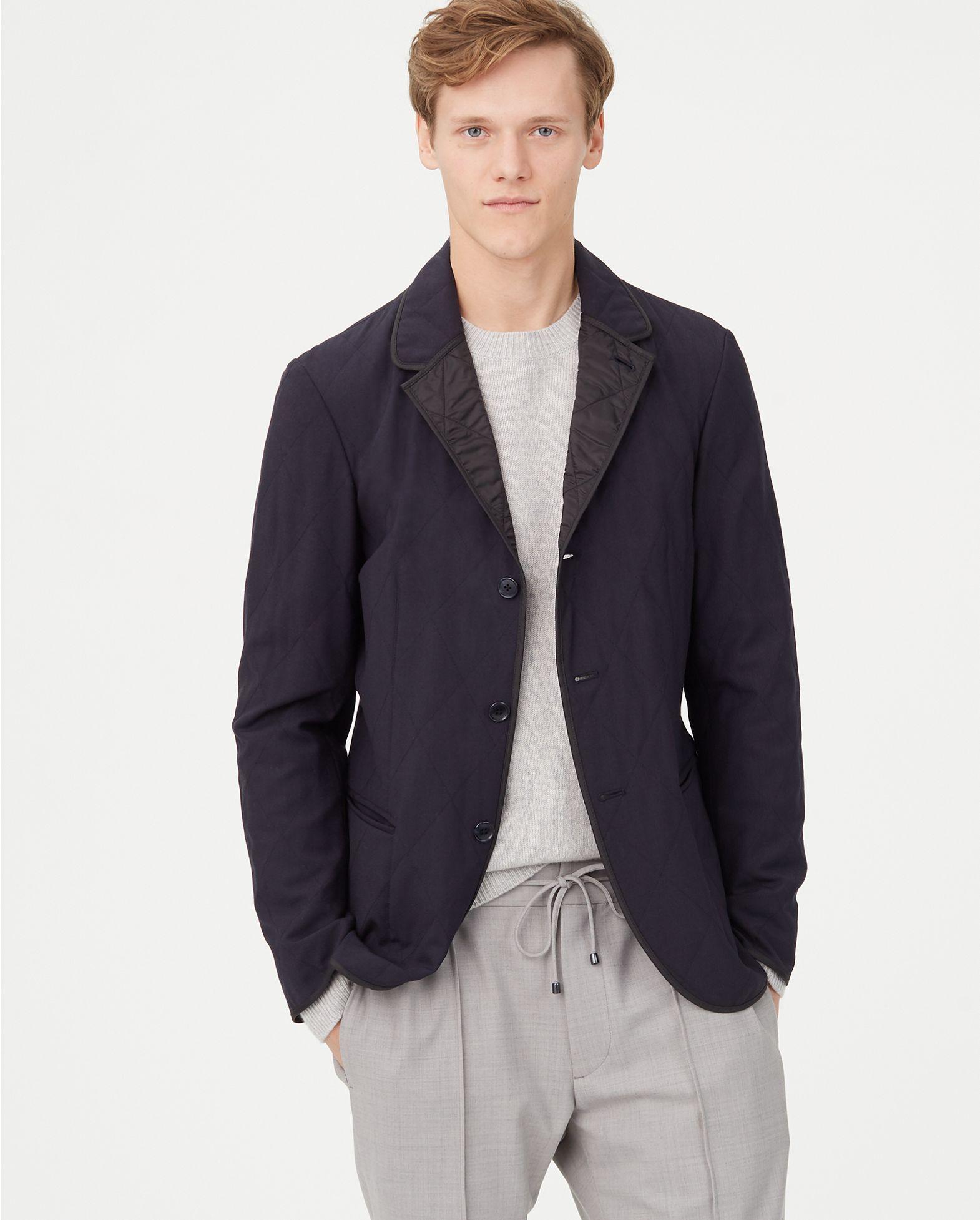CLUB MONACO Quilted Blazer