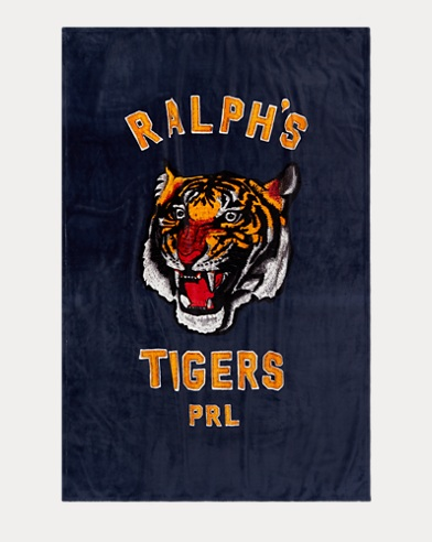 Polo Tiger Throw Blanket