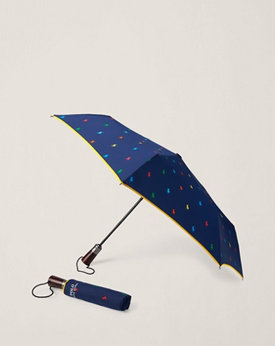 Parapluie pliable poney Polo