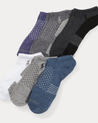 Contrast Low-Cut Sock 6-Pack