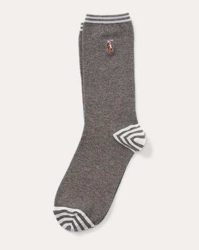 Cotton-Blend Trouser Socks