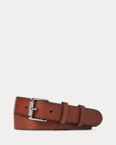 Vachetta Leather Officer Belt
