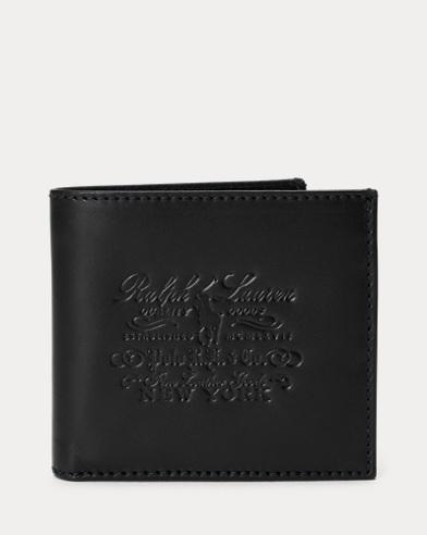 Geldbörse aus Narbenleder