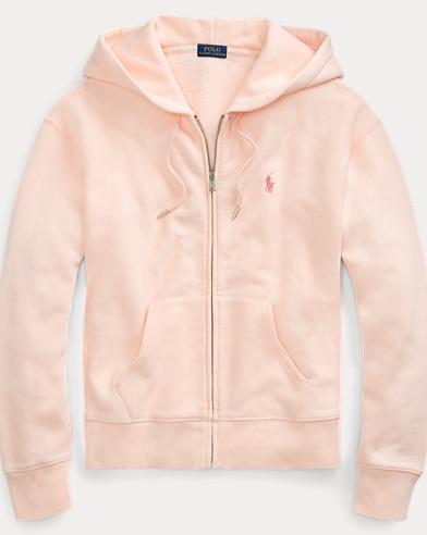 Sudadera con capucha y cremallera en felpa Pink Pony. Pink Pony 1d0aee447d8