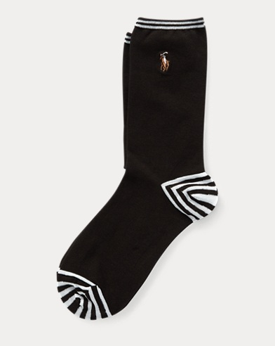 Cotton-Blend Trouser Socks