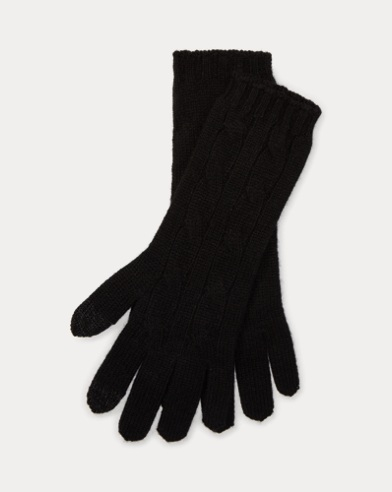 Cashmere-Blend Tech Gloves