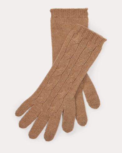 Cashmere-Blend Tech Gloves