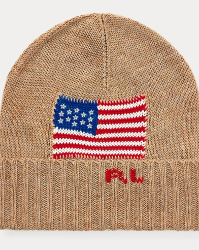 Metallic Flag Hat