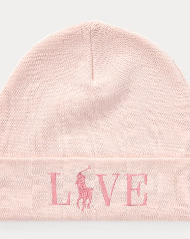 Pink Pony Wool-Blend Hat