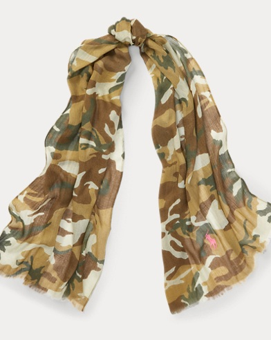 Pink Pony Camouflage Scarf