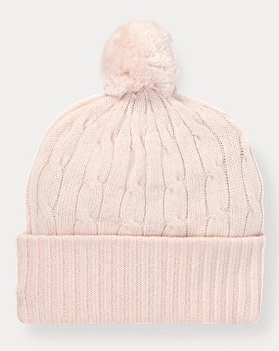 Pink Pony Cashmere Hat