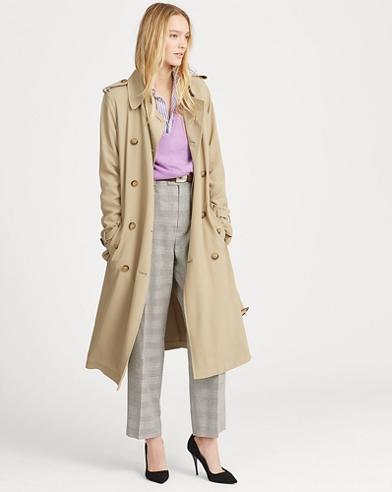 Twill Trench Coat