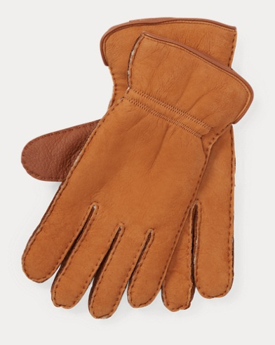 Deerskin Shearling Gloves