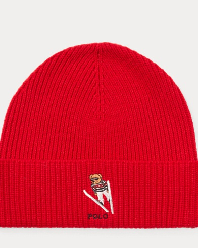 Ski Bear Knit Hat