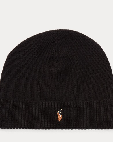 Merino Wool Watch Cap. color (3)  Black · Light Gray · Navy. Polo Ralph  Lauren. Merino Wool Watch Cap 9d280484ad80
