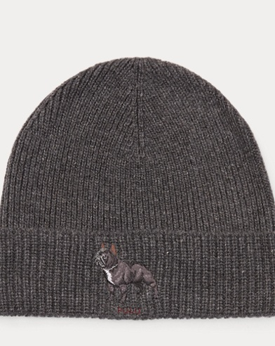 Bulldog Knit Hat