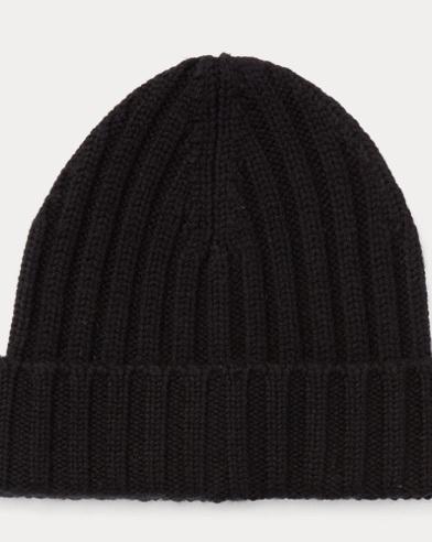 Rib-Knit Beanie