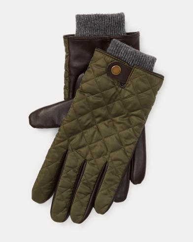 Quilted Leather Field Glove