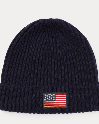 Flag Knit Hat