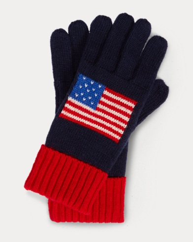 USA Knit Gloves
