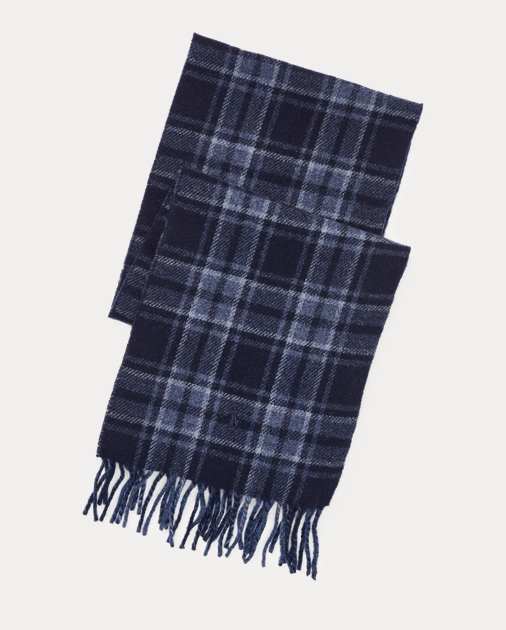 Polo Ralph Lauren Reversible Plaid Scarf 1