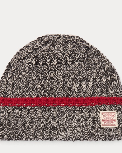 Knit Wool-Blend Hat