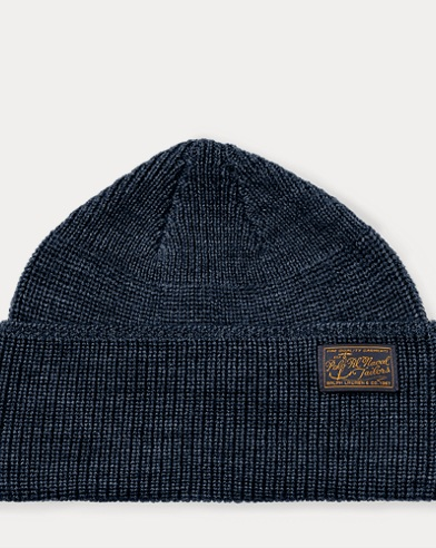 Naval-Brim Knit Hat