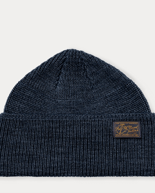 d52ba3bcbc6 Polo Ralph Lauren Naval-Brim Knit Hat 1