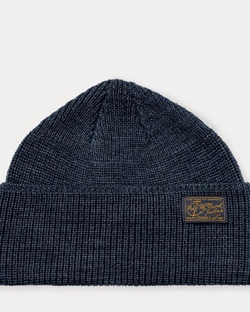 f6f22e3859b Polo Ralph Lauren Naval-Brim Knit Hat 1