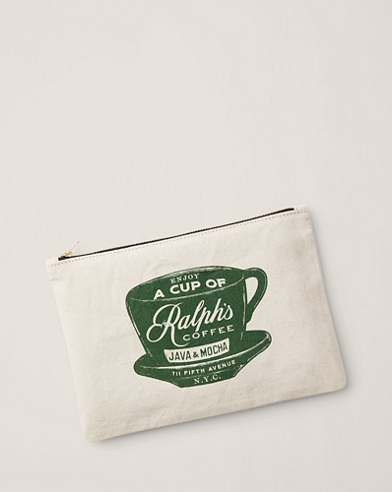 Ralph's Coffee Zip Pouch