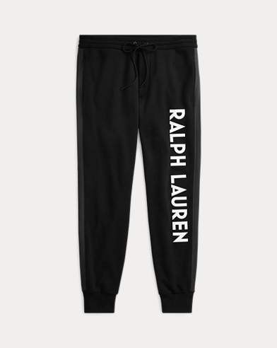 Double-Knit Graphic Jogger