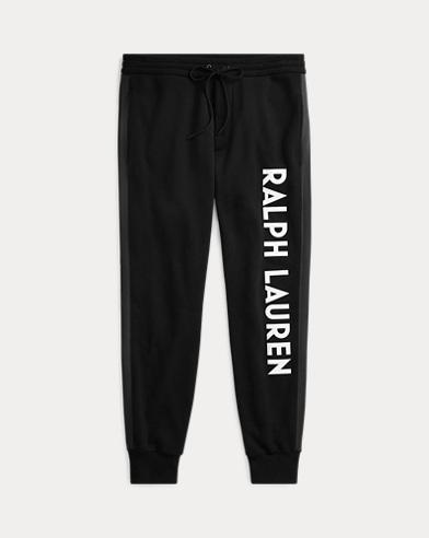 Pantalon graphique tricot double