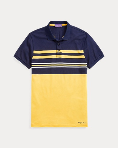 Custom Slim Fit Piqué Polo