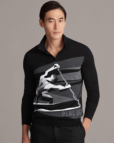 RLX Cotton Graphic Sweater